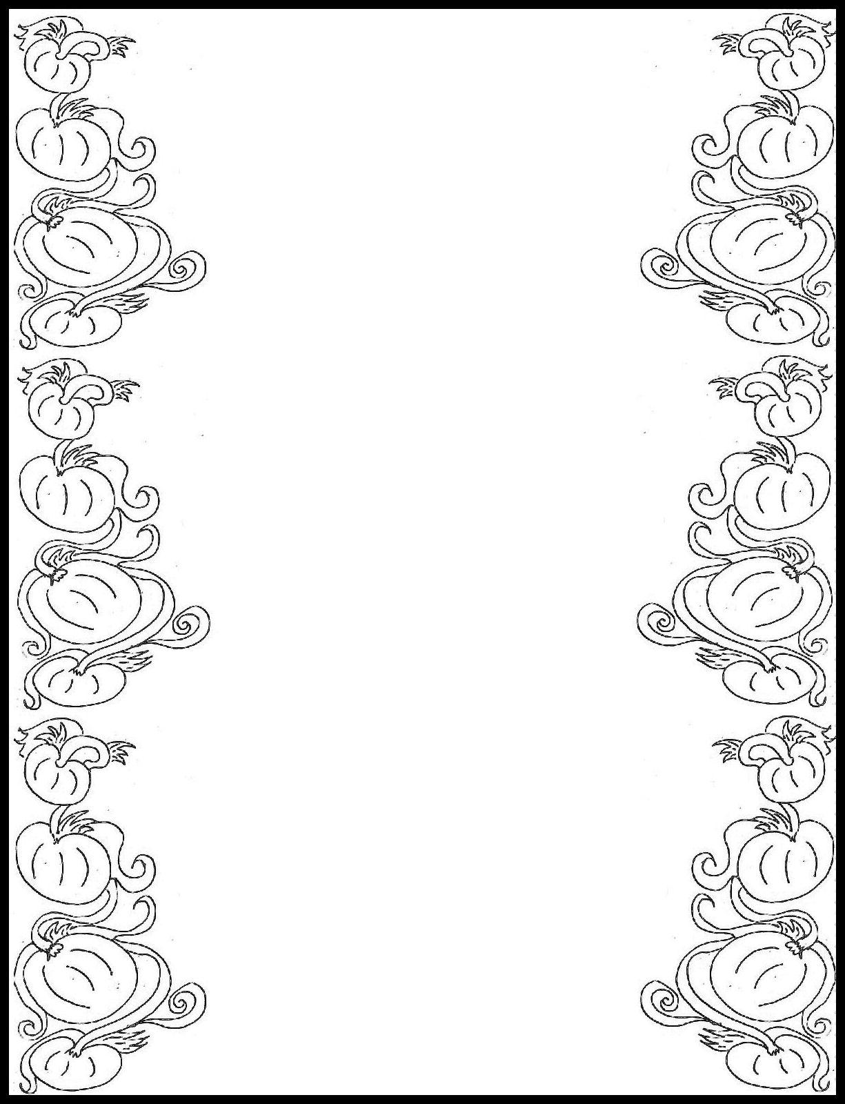 1225x1600 Border Design Drawing For Boys Pink Flower Border Design