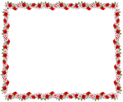 470x390 Free Clipart Rose Border