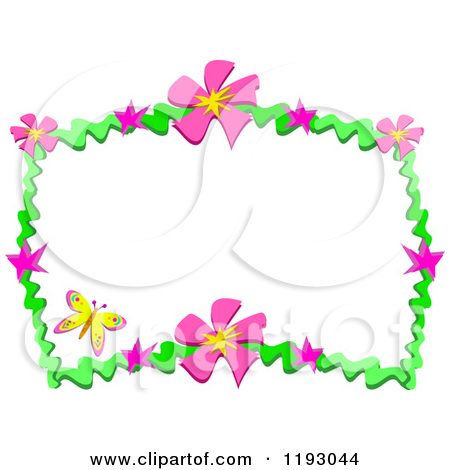 450x470 Graphics For Pink Flower Border Graphics