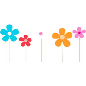 300x300 Spring Flowers Border Clipart Free Images 2