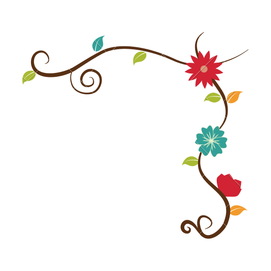 Flower Border Png | Free download on ClipArtMag