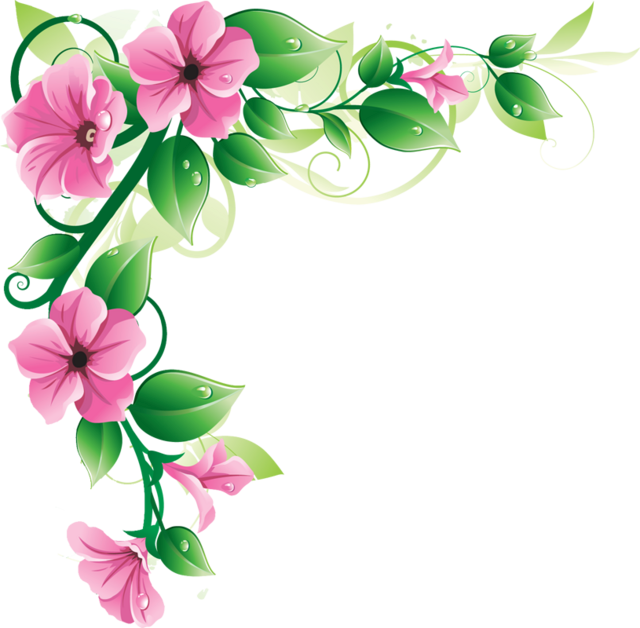 640x628 Flowers Borders Png Transparent Flowers Borders.png Images. Pluspng