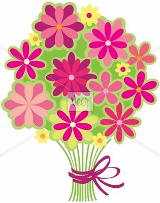 315x400 Bouquet Clipart Flower Drawing