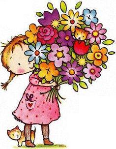 236x303 Clip Art Flowers Bouquet