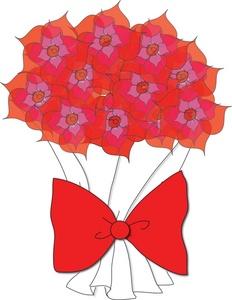 232x300 Free Flowers Clip Art Image