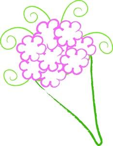 233x300 Free Flowers Clip Art Image