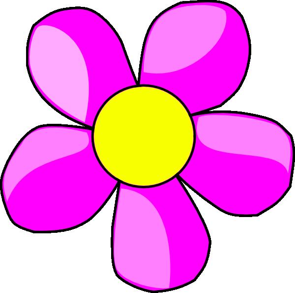 600x594 Purple Flower 2 Clip Art