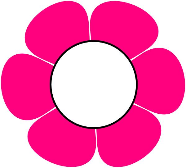 600x541 1 Pink Flower Clip Art