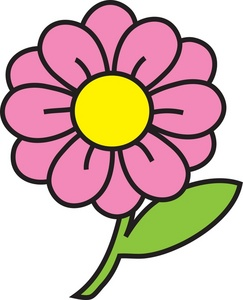 243x300 Flower Clipart Image