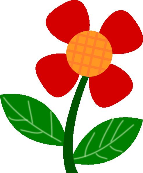 492x595 Cartoon Flower Clipart 2184617
