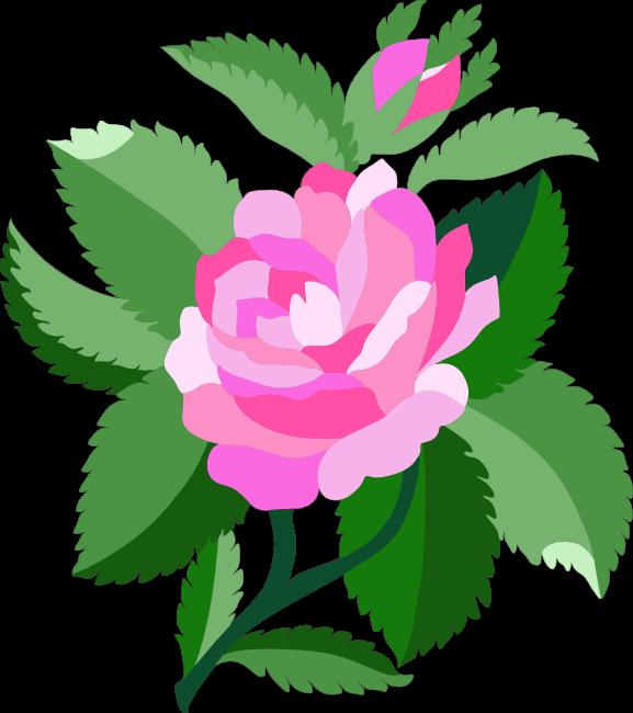 577x650 Peach Flower Clipart Animated Flower