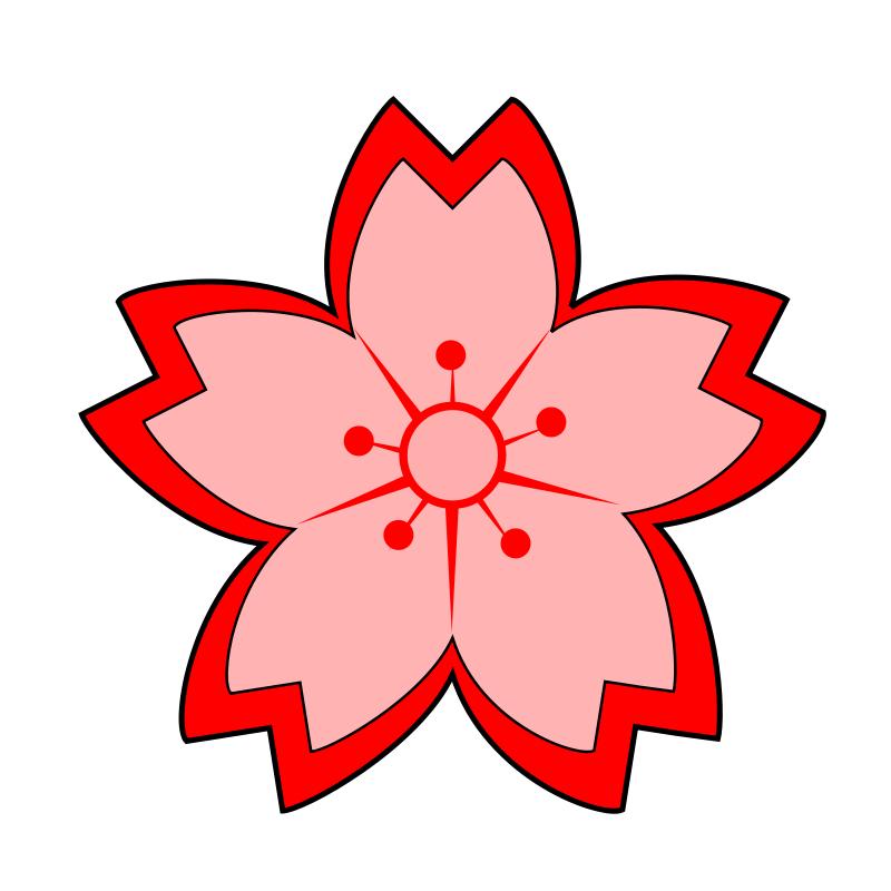 800x800 View Sakuras In Flower Clipart Clipart Panda