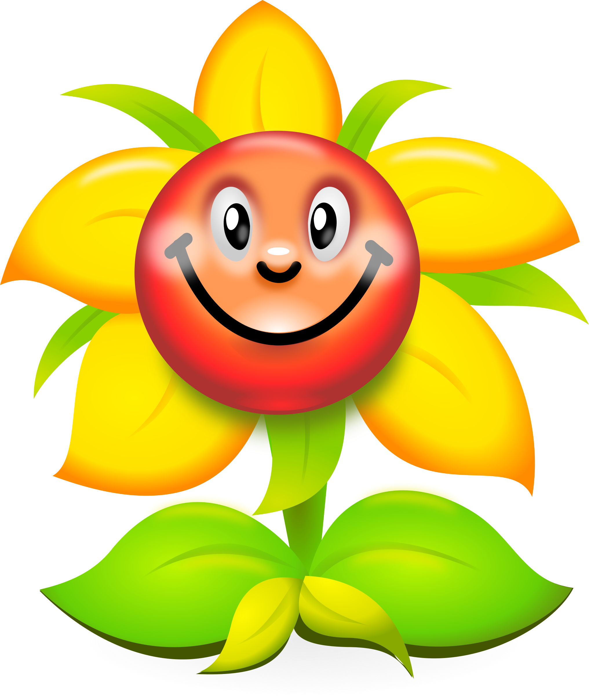 Flower Clipart Cartoon Free Download Best Flower Clipart Cartoon