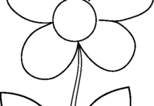 218x150 Flower Clipart Black And White Flowers