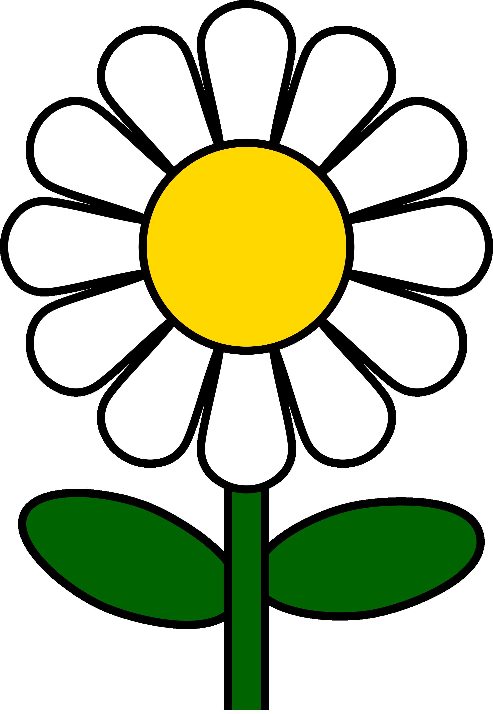 1969x2849 Free Daisy Flower Clip Art Clipart