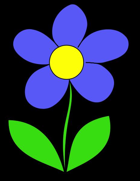 464x600 Flower Clipart Transparent Background