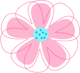 264x241 Flower With Transparent Background Clipart
