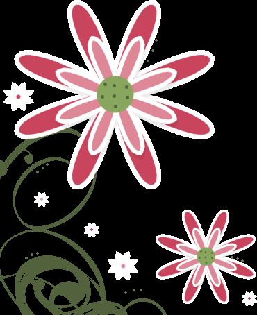 370x454 Graphics For Corner Flower Transparent Background Graphics Www