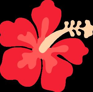 300x297 Hawaiian Flowers Clipart No Background