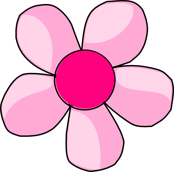 600x594 Daisy Clipart Purple Daisy