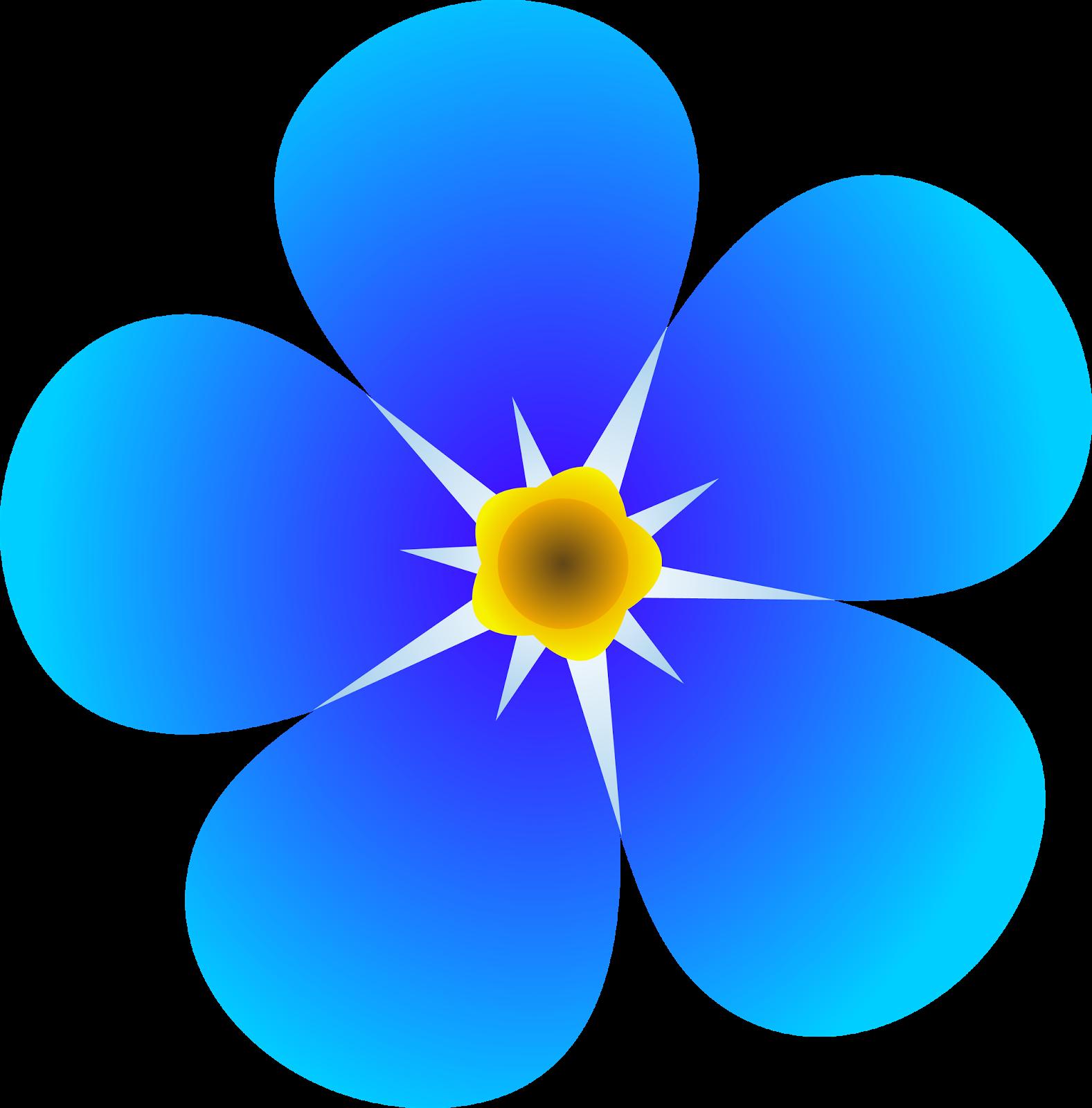 1577x1600 Blue Flower Clipart Blue Daisy