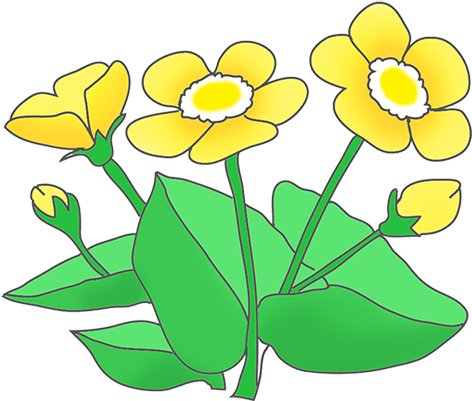 472x401 Free Flower Clipart Transparent Background