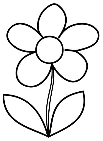 349x480 Coloring Pages Engaging Flower Coloring Page Trend 97 About