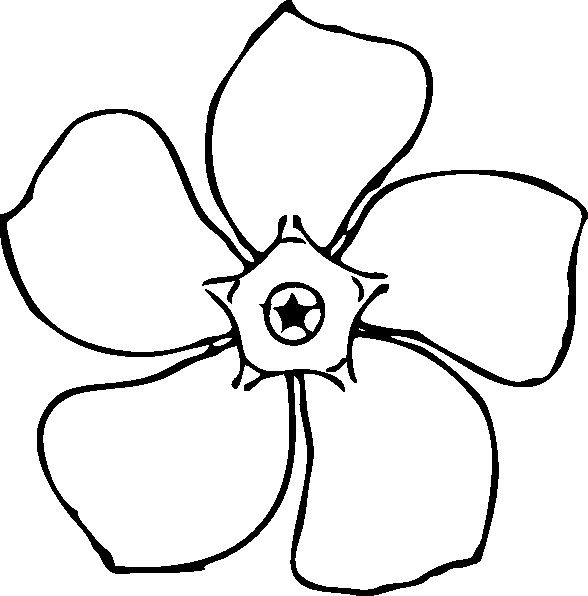 588x596 Flower Coloring Pages 3 Coloring Pages To Print