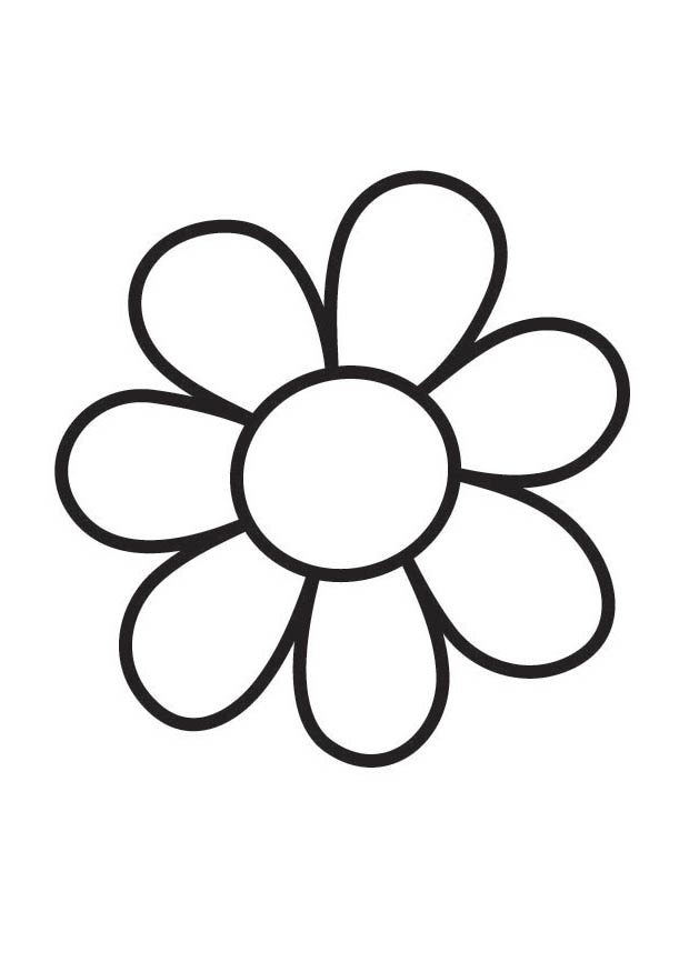 620x875 Big Flower Coloring Pages