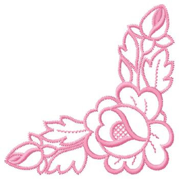350x350 Embroidery Corner Border Designs