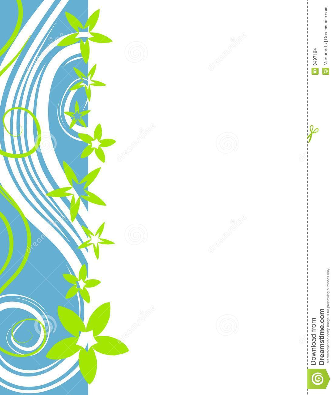 1101x1300 Flower Border Clip Art Clipart Panda