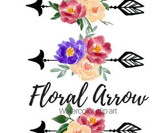 340x270 Floral Clip Art Etsy