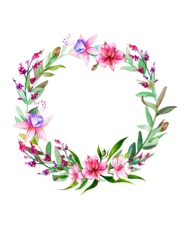 Flower Crown Clipart