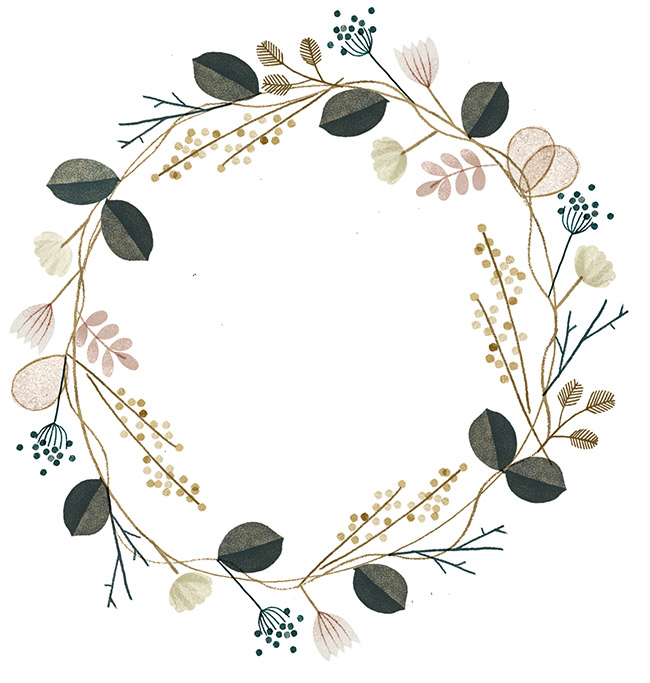 650x683 Flower Crown By Clare Owen Art My Love Flower