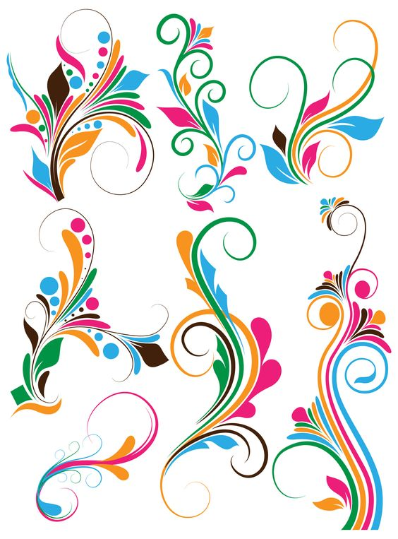 564x763 Free Vector Clip Art Flowers