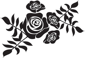 300x203 Roses Clipart Image
