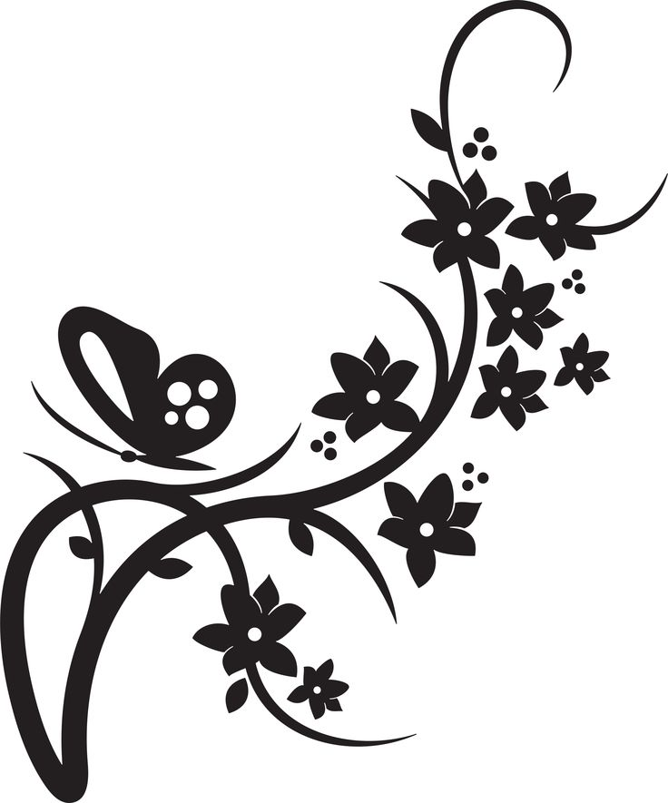 736x885 Clip Art Flower Designs Clipart