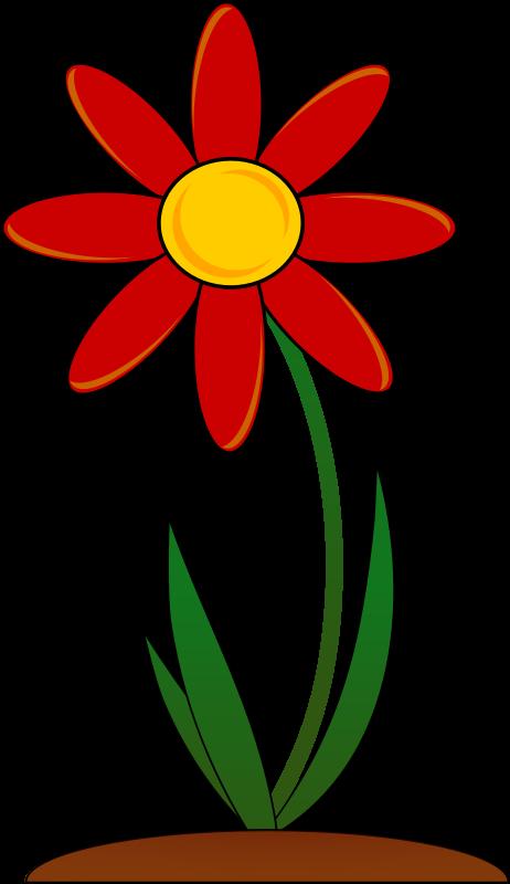 462x800 Flower Garden Clip Art