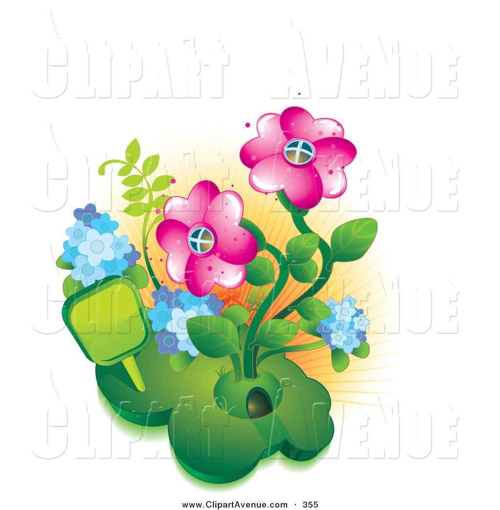1024x1044 Flowers Garden Clipart