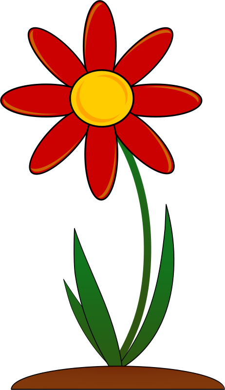 462x800 Ground Clipart Flower