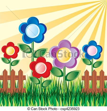 450x469 Season Clipart Flower Garden