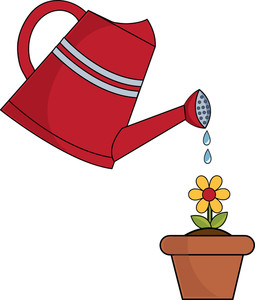 255x300 Watering Clipart Image