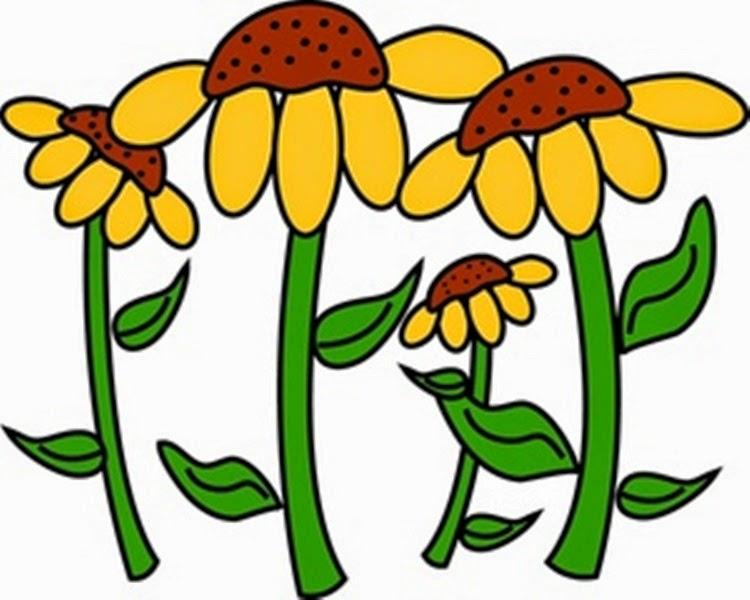750x600 Flower Garden Free Clipart