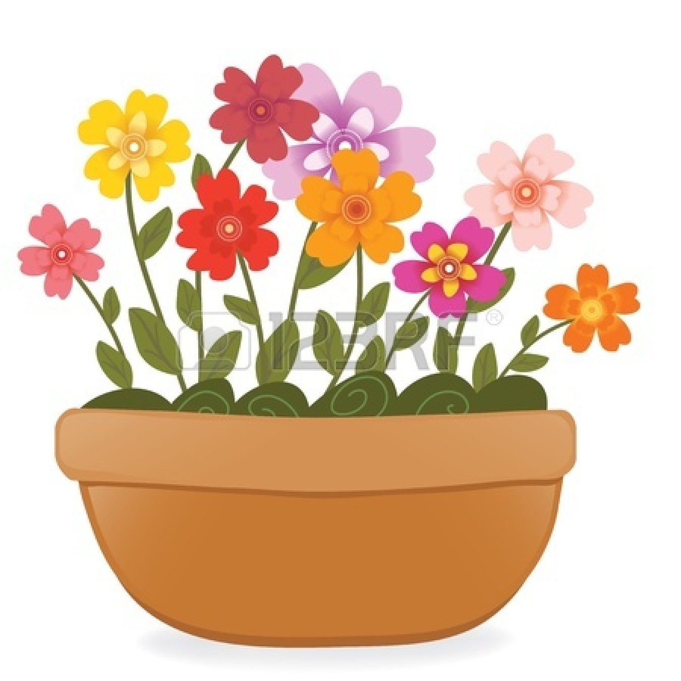 1350x1350 Plants And Flowers Clipart