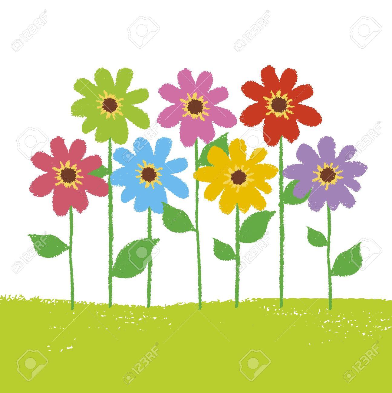 1295x1300 Sky Clipart Flower Garden
