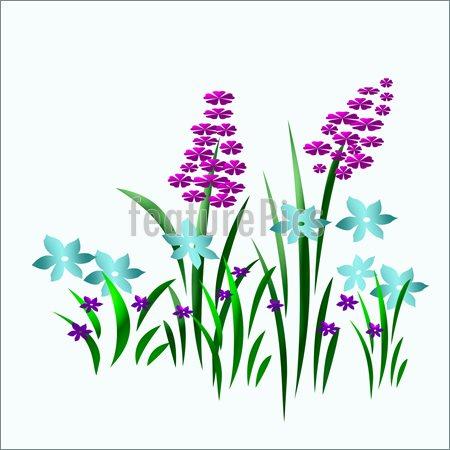 450x450 Country Clipart Flower Garden