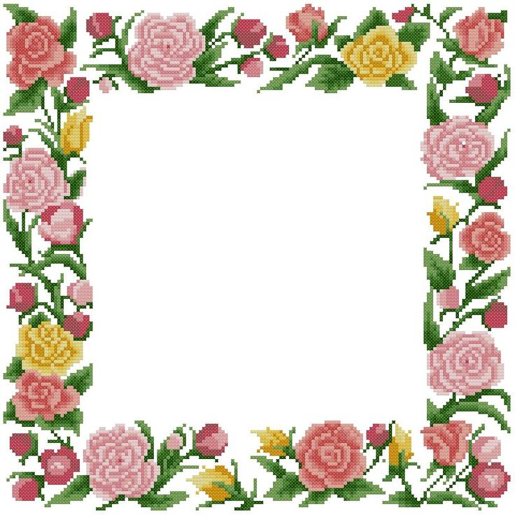 Flower Garland Clipart
