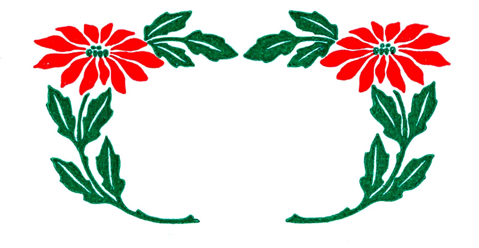 1600x831 Free Christmas Garland Clipart