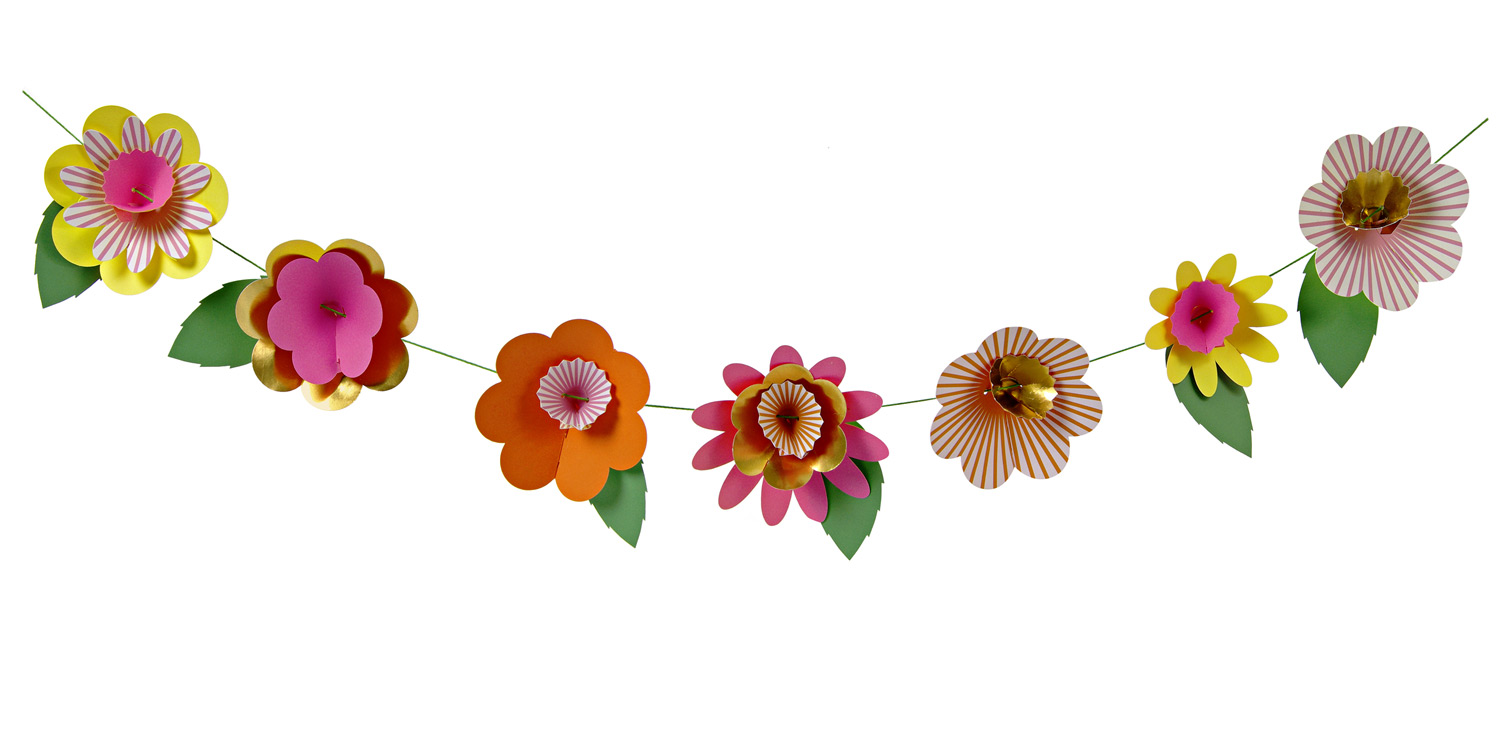 Flower Garland Clipart | Free download on ClipArtMag