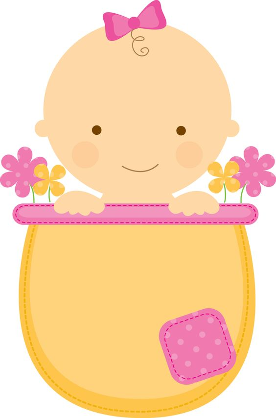 564x853 Baby Girl Clipart Png